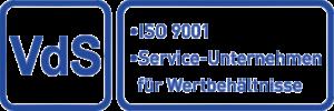 Logo_VdS_9001-Service-Unternehmen-Wertbehaeltnisse